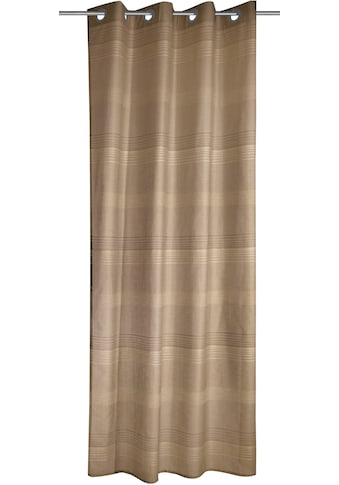 WILLKOMMEN ZUHAUSE by ALBANI GROUP Vorhang »Streifen«, Ösenschal kaufen