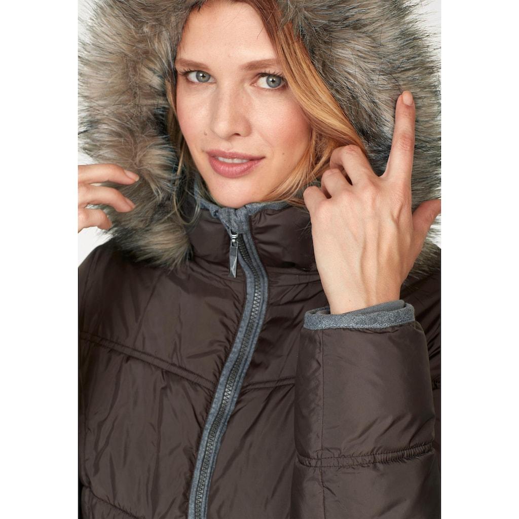 Aniston CASUAL Steppjacke, mit winterwarmen Futter