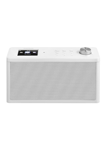 Lenco Internet-Radio »KCR-2014 Weiss«, (WLAN Internetradio-FM-Tuner ) kaufen
