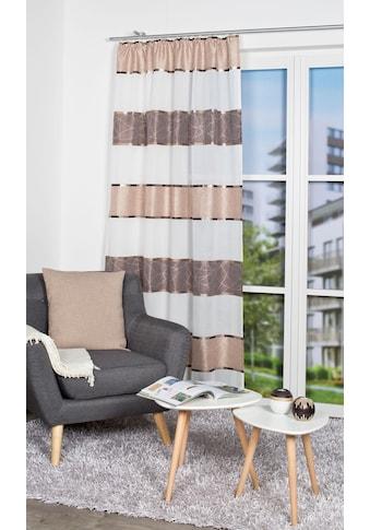 Vorhang, »TALWER«, HOME WOHNIDEEN, Kräuselband 1 Stück kaufen