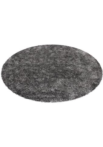 Hochflor - Teppich, »Diamond 700«, Kayoom, rund, Höhe 40 mm, handgetuftet kaufen