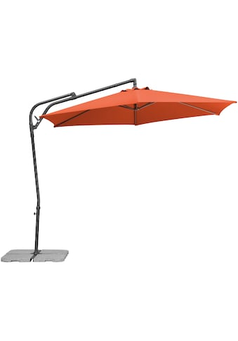 Schneider Schirme Ampelschirm »Genua«, mit Schirmständer, ohne Wegeplatten kaufen