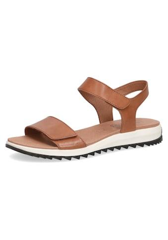 Caprice Riemchensandale, in klassischem Look, Schuhweite H (sehr weit) kaufen