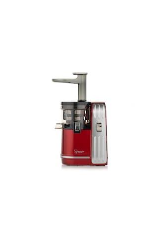 Entsafter »EUJ- 828 Rot«, 150 W, Einfüllöffnung, Reinigungsbürste, Siebeinsatz kaufen