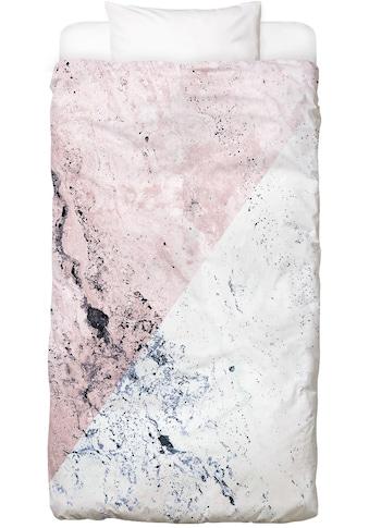 Bettwäsche »Rose Geo Marble«, Juniqe kaufen