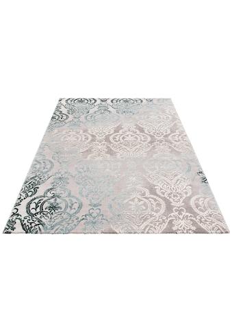 Teppich, »Bahar«, merinos, rechteckig, Höhe 12 mm, maschinell gewebt acheter