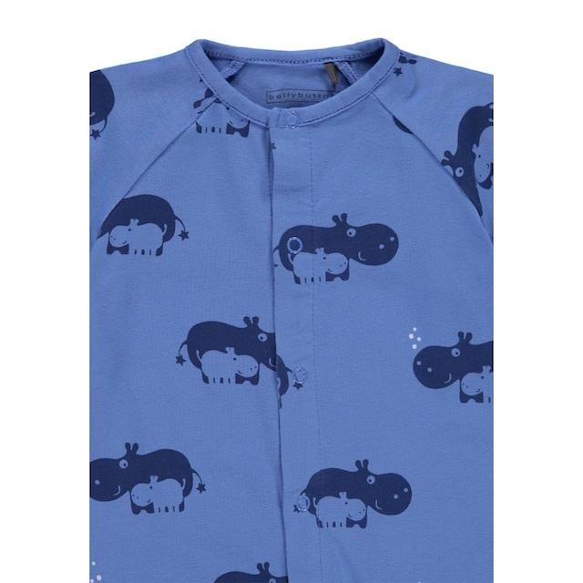 Bellybutton Overall kurz mit Hippos »Hello Hippos«