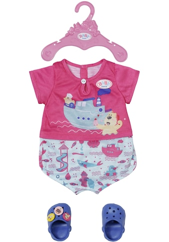 Baby Born Puppenkleidung »Bath Pyjamas & Clogs« kaufen