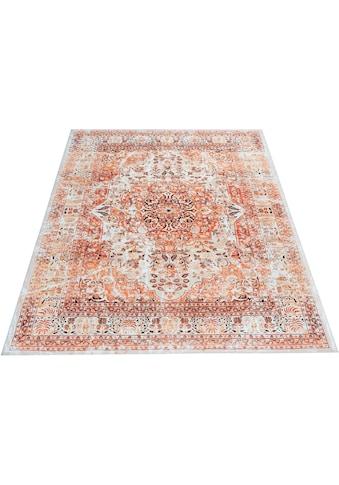 Home affaire Teppich »Helen«, rechteckig, 6 mm Höhe, Wohnzimmer kaufen