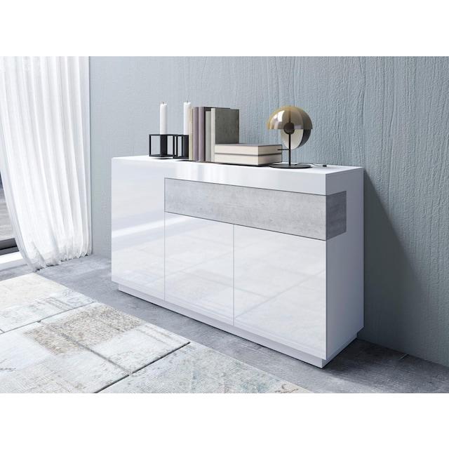 TRENDMANUFAKTUR Sideboard »SILKE«