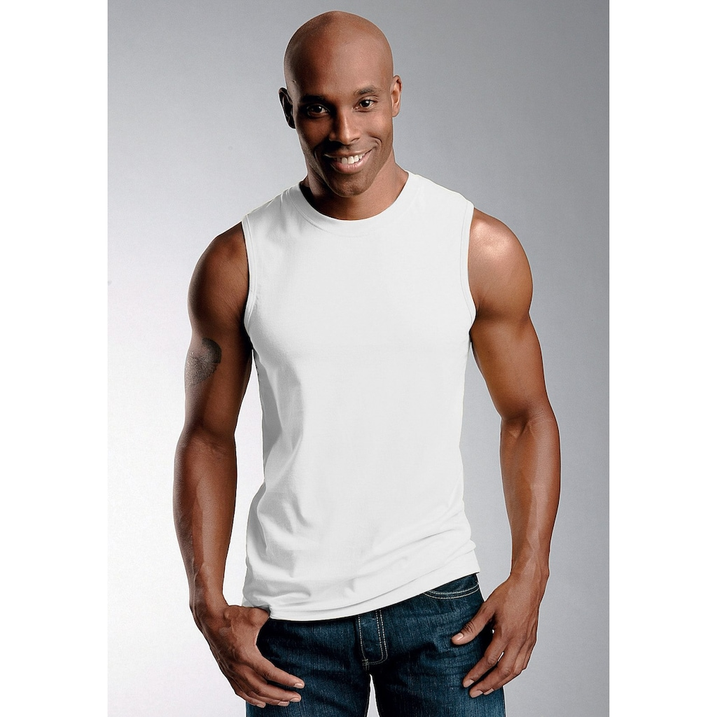 H.I.S Achseltop »Cotton made in Africa«, in Muscle Form