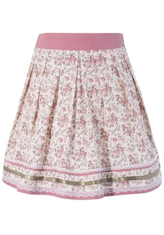 Marjo Trachtenrock Kinder mit Rosenprint acheter