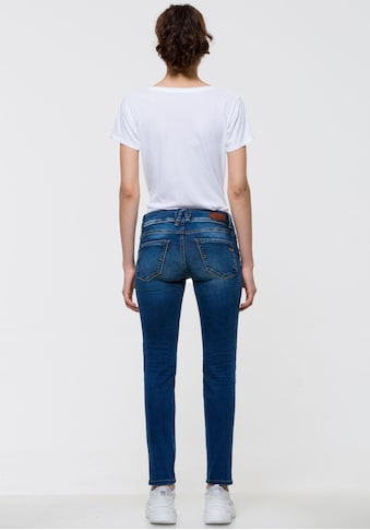 LTB Skinny-fit-Jeans »SENTA«, mit Doppel-Knopf-Bund kaufen