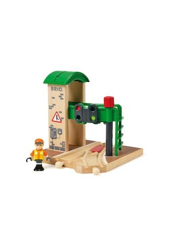 BRIO® Spielzeugeisenbahn-Gebäude »BRIO® WORLD Signal Station« kaufen