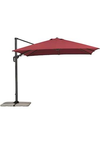 Schneider Schirme Ampelschirm »Rhodos Twist«, Inkl. Schutzhülle, ohne Wegeplatten kaufen