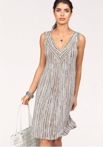 Boysen's Jerseykleid, im figurschmeichendem Streifen-Design kaufen