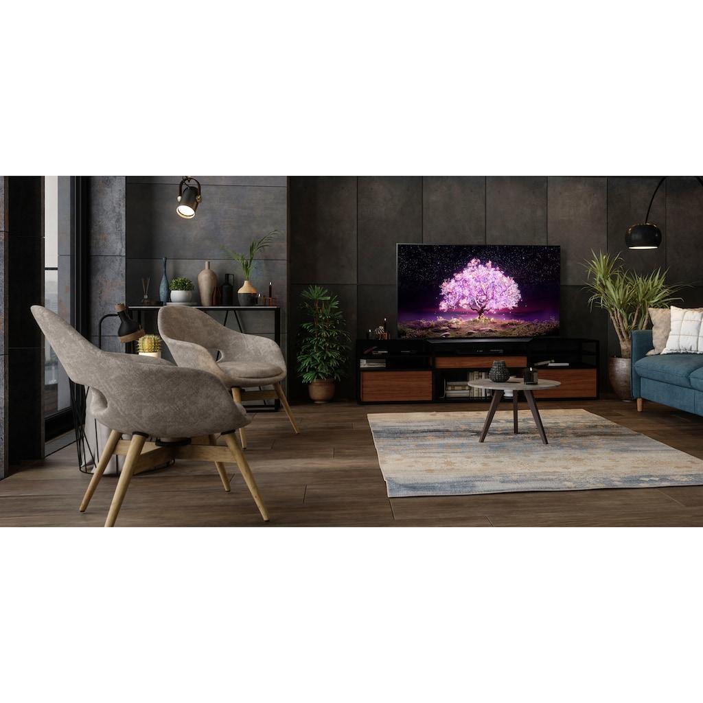 """LG OLED-Fernseher »OLED55C17LB«, 139 cm/55 """", 4K Ultra HD, Smart-TV, (bis zu 120Hz)-α9 Gen4 4K AI-Prozessor-Twin Triple Tuner-Sprachassistenten-HDMI 2.1"""