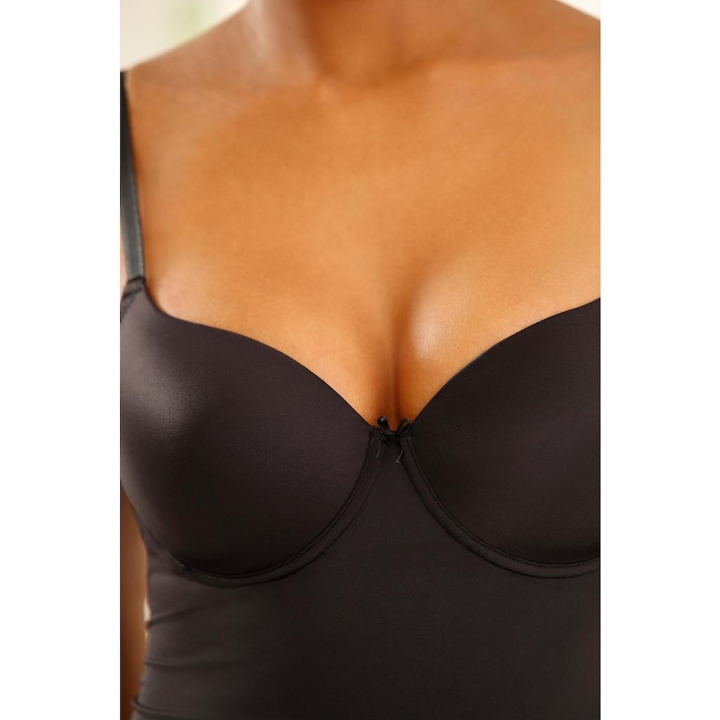 LASCANA Schalen-BH-Hemd, mit Bügel für einen guten Halt