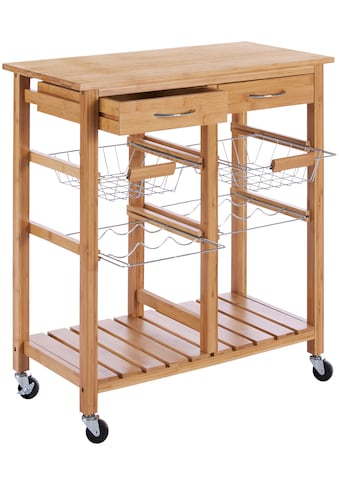 Küchenwagen »Bambus«, 72 x 37 x 78 cm kaufen