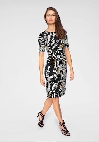 Aniston SELECTED Jerseykleid, mit modischer Raffung kaufen