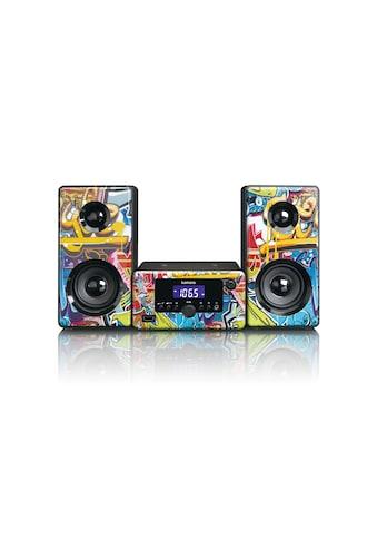Lenco Microanlage »MC-020 Mehrfarbig«, (Bluetooth FM-Tuner) kaufen
