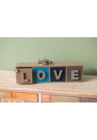 Home affaire Kommode »Finja«, LOVE kaufen
