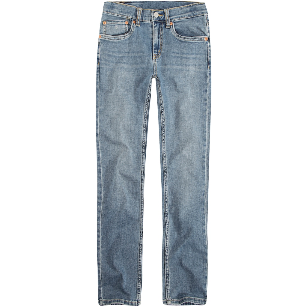 Levi's Kidswear Stretch-Jeans »LVB 512 SLIM TAPER JEAN«