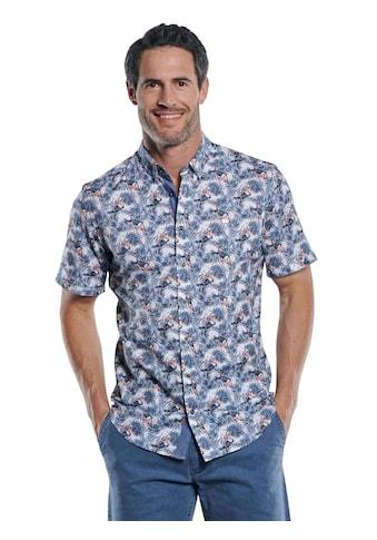Engbers Komfortables Hemd mit exotischem Muster kaufen