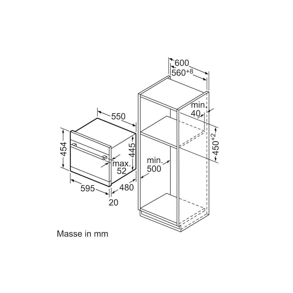 SIEMENS teilintegrierbarer Geschirrspüler »iQ500 SK75M522EU modular, A+«, iQ500