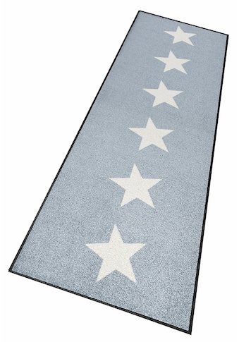 wash+dry by Kleen-Tex Läufer »Stars«, rechteckig, 7 mm Höhe, Schmutzfangläufer, In-... kaufen