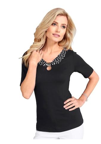 Lady Shirt mit Deko - Spange vorne kaufen