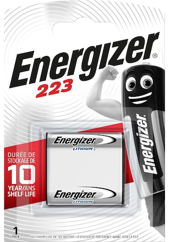 Energizer Batterie »Lithium Foto 223 1 Stück«, 6 V kaufen