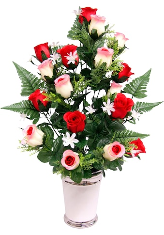 Kunstpflanze »Rosen« (1 Stück) kaufen