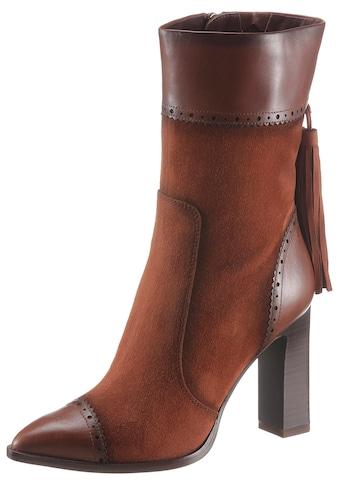 Tamaris High-Heel-Stiefel »Heart & Sole«, mit trendigen Quasten am Schaft kaufen