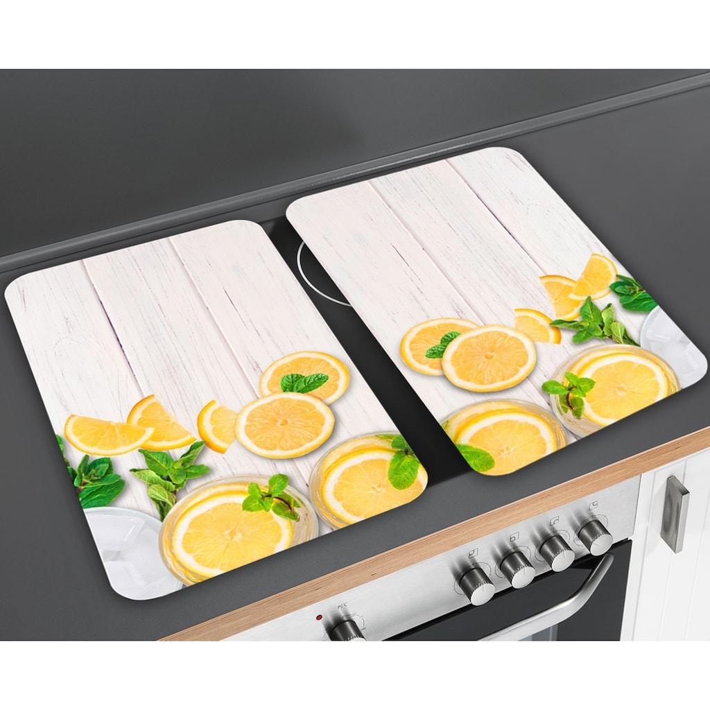 WENKO Herd-Abdeckplatte »Universal Zitronen«