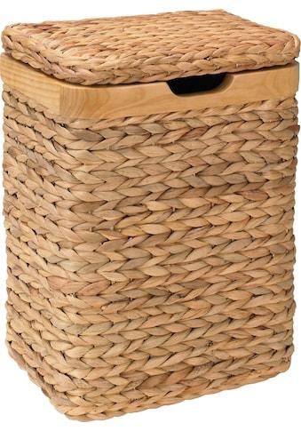 Home affaire Wäschebox, mit natur Holzrahmen kaufen