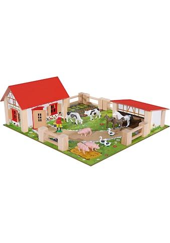Eichhorn Spielwelt »Bauernhof klein«, Made in Europe kaufen