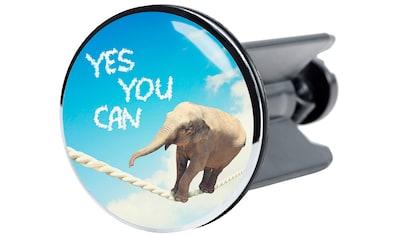 Sanilo Waschbeckenstöpsel »Yes you can«, Ø 4 cm kaufen