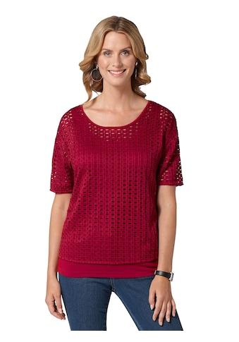 Ambria Shirt mit farblich passendem Top kaufen