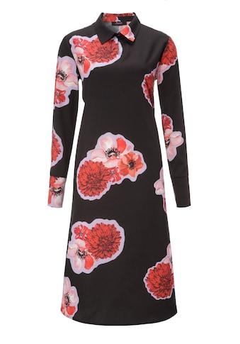 Aniston CASUAL Blusenkleid, mit grossflächigem Blumendruck - NEUE KOLLEKTION kaufen