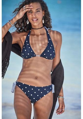 s.Oliver Beachwear Triangel-Bikini-Top »Audrey«, Im Punkte und Streifen Mix kaufen