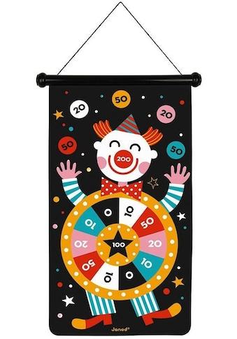 Janod Spiel »Magnetisches Dartspiel - Zirkus« kaufen