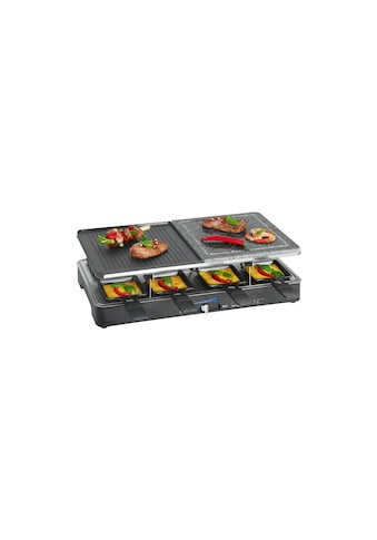 CLATRONIC Raclette »RG 3518, 8 Personen«, 8 St. Raclettepfännchen, 1400 W kaufen