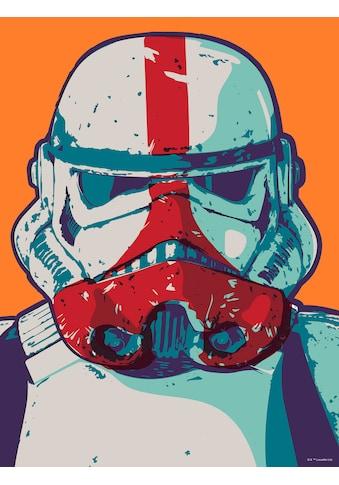 KOMAR Wandbild »Mandalorian Pop Art Stormtrooper«, PVC - frei und FSC® - zertifiziertes Produkt. kaufen