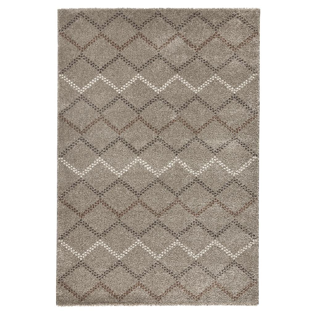 MINT RUGS Teppich »Nouveau«, rechteckig, 20 mm Höhe, melierte Farb-Optik, Wohnzimmer