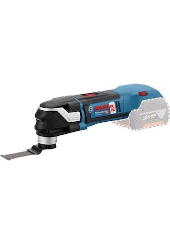 Bosch Professional Multifunktionswerkzeug »GOP 18V-28 Solo«, Funktionen: Sägen; Fräsen; Schleifen; Schaben kaufen