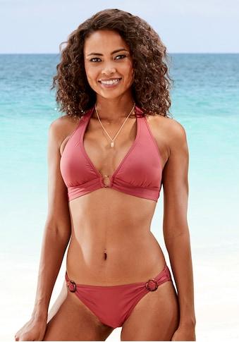 s.Oliver Beachwear Triangel-Bikini-Top »Rome«, mit breitem Bündchen kaufen