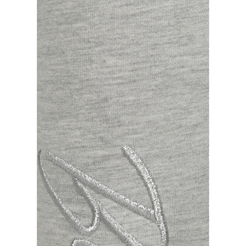 Bench. Leggings, mit glänzender Logostickerei