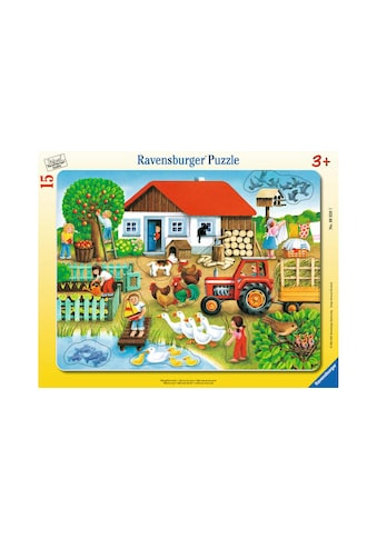 Ravensburger Rahmenpuzzle »Was gehört wohin?« kaufen