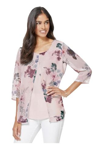 Alessa W. Bluse mit Sommerblumen - Print kaufen
